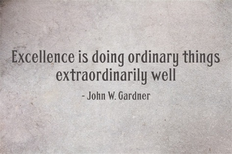 Excellence-is-doing