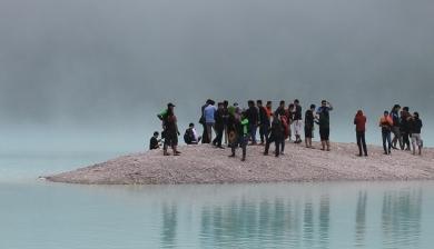 People on Island